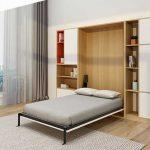 Giường gấp dọc GA-930 1m6 x 2m