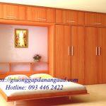Giường gấp dọc GA-198 1m8 x 2m