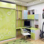 Giường gấp âm tường kích thước 1,2m x 2m