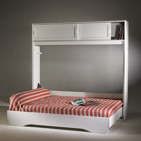 giường gấp ngang tiết kiệm diện tích
