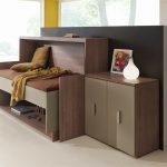 Giường gấp thành bàn làm việc kích thước 1m x 2m