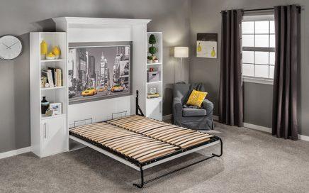 giường ngủ gấp gỗ tự nhiên