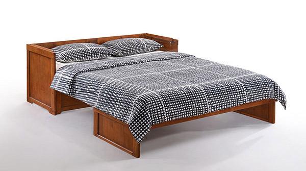 Giường gấp bằng gỗ tự nhiên GA-637