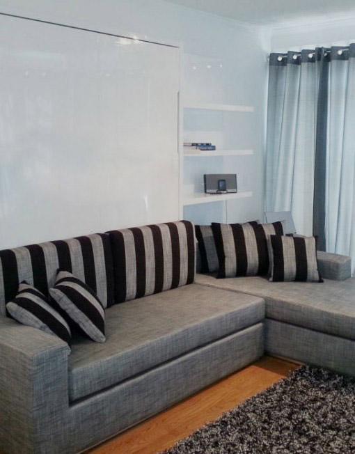 Giường gấp 1m2 đa năng kết hợp sofa