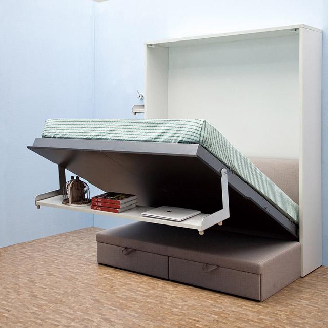 Giường gấp dọc GA-K18 đa năng