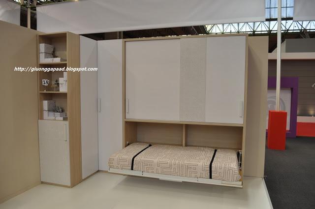 Giường gấp xếp đa năng thông minh Feria
