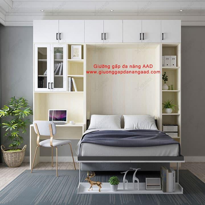 Giường gấp gắn tường tiết kiệm không gian GA-2016