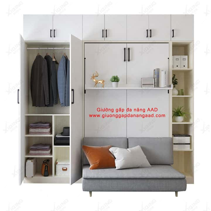 Giường gấp gắn tường