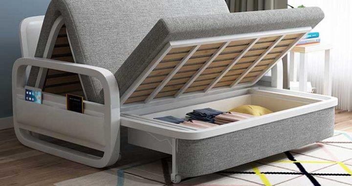 Giường gấp thành sofa đa năng thông minh GA-616