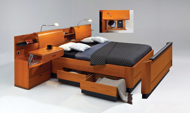 giường gấp có ngăn kéo