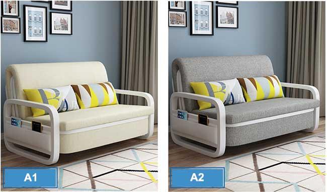 Màu sắc giường kết hợp sofa