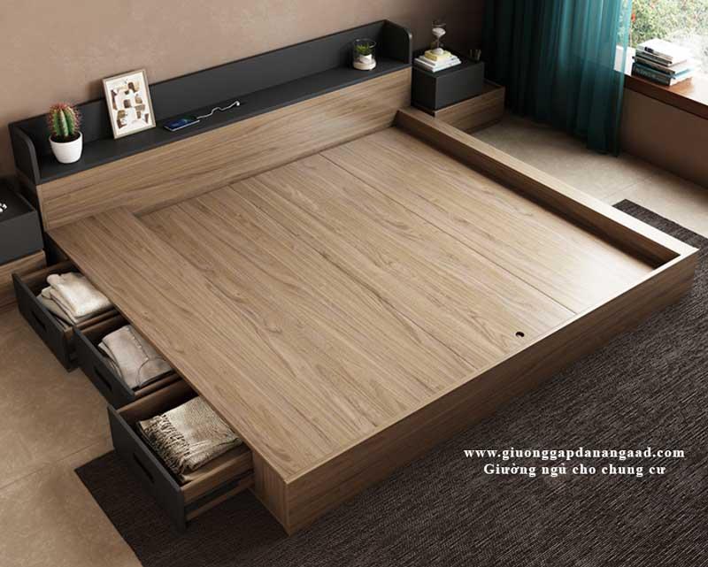 giường chung cư có ngăn kéo