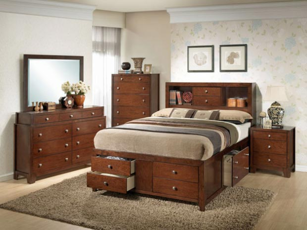 Giường ngủ ngăn kéo thông minh GN1118