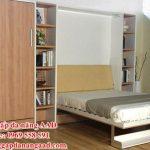 Giường gấp dọc âm tường – Giường gấp âm tường GA-450