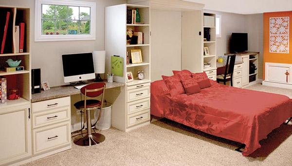 giường đa năng gấp âm vào tường đa năng