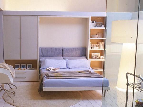 giường gấp âm tường đa năng nhỏ gọn