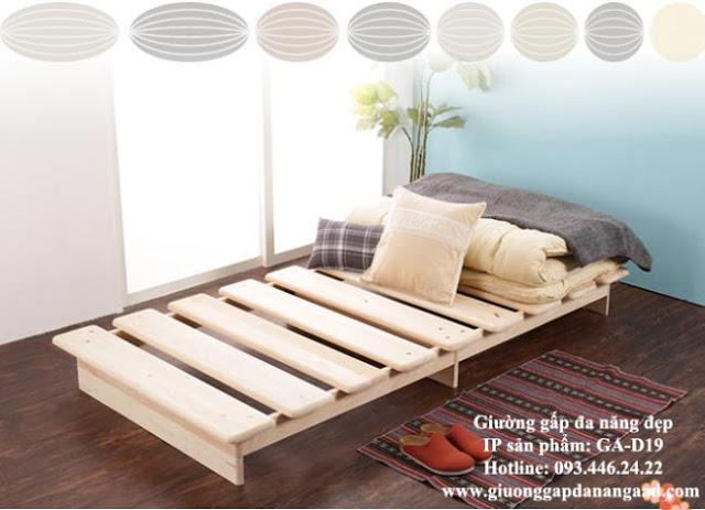 giường ngủ đơn đa năng dành cho 1 người