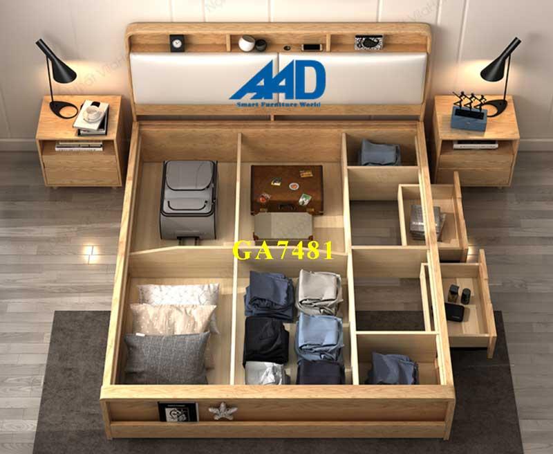 giường ngủ đa năng gỗ sồi nga