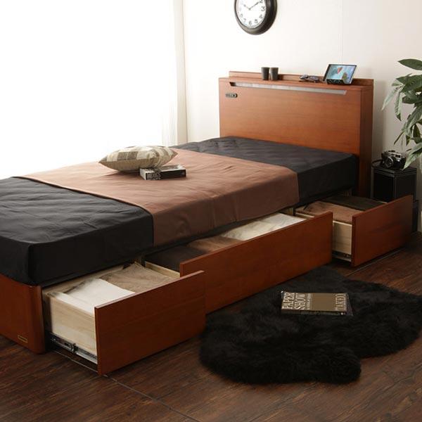 Giường đa chức năng có ngăn kéo, kệ đầu giường