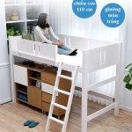 Giường tầng bằng gỗ đa năng cho trẻ em và người lớn