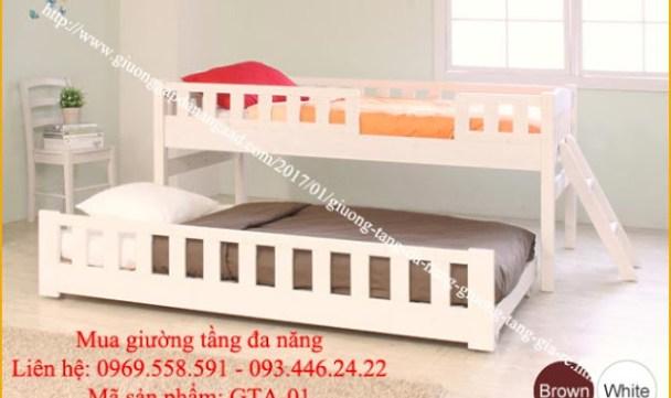 Giường tầng đa năng, giường tầng giá rẻ GTA - 01j