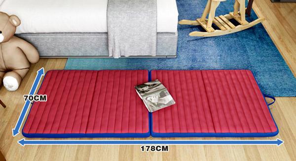 kích thước giường gấp di động