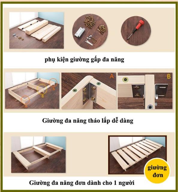 phụ kiện giường GA-D19