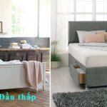 """""""Đầu giường"""" là gì? xác định đầu giường là đầu cao hay thấp"""