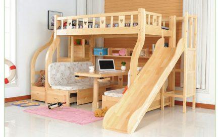 giường tầng đa năng có ngăn kéo