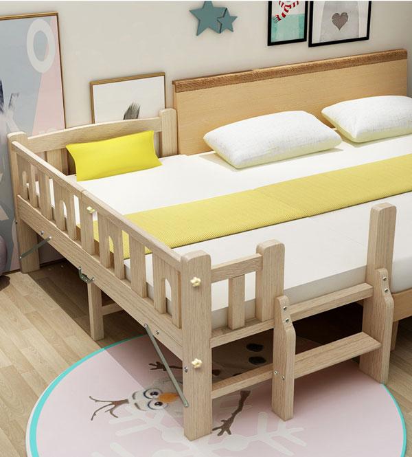 giường gấp dành cho trẻ em có lan can