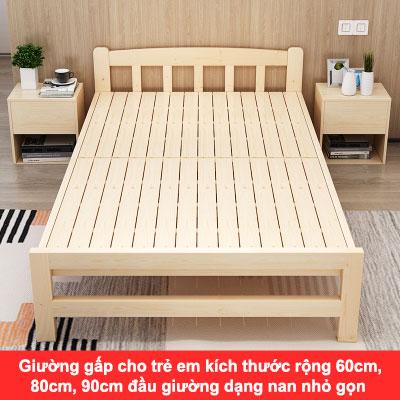 giường gấp cho trẻ em