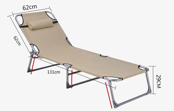 kích thước giường GA-105