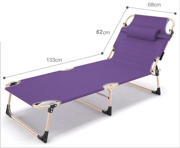 giường gấp màu tím