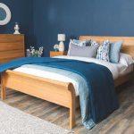 Giường ngủ gỗ sồi Nga & Mỹ đẹp hiện đại