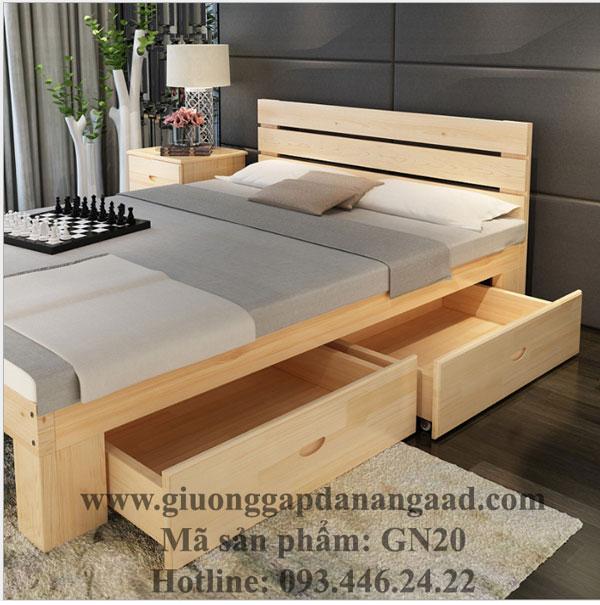 Giường ngăn kéo GN 20 đa năng thông minh sang trọng