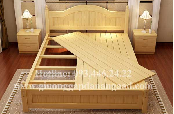 Mẫu giường ngủ sang trọng hiện đại GN282