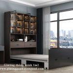 Giường thông minh 1m2 kết hợp sofa, bàn học, tủ quần áo