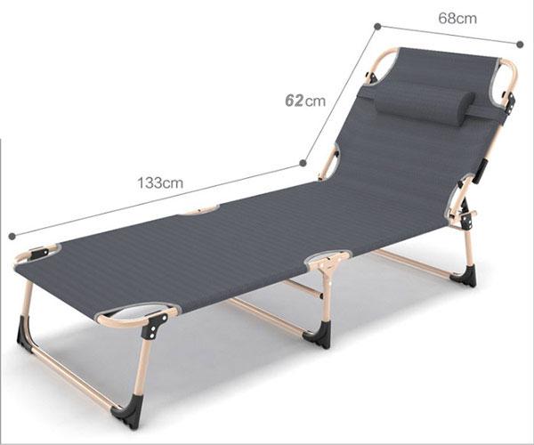 giường gấp màu xám