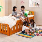 Giường đa năng dành cho trẻ em gỗ thông