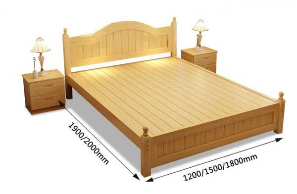 kích thước giường ngủ GN282