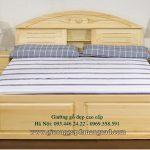Giường gỗ cao cấp, giường gỗ trẻ em 1,8 m 1,5 m