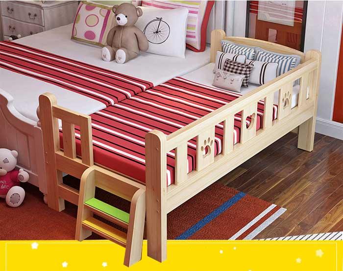 giường gỗ trẻ em GA949