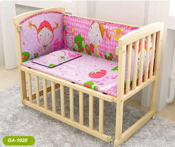 Giường gỗ cho trẻ em GA1020 giá rẻ