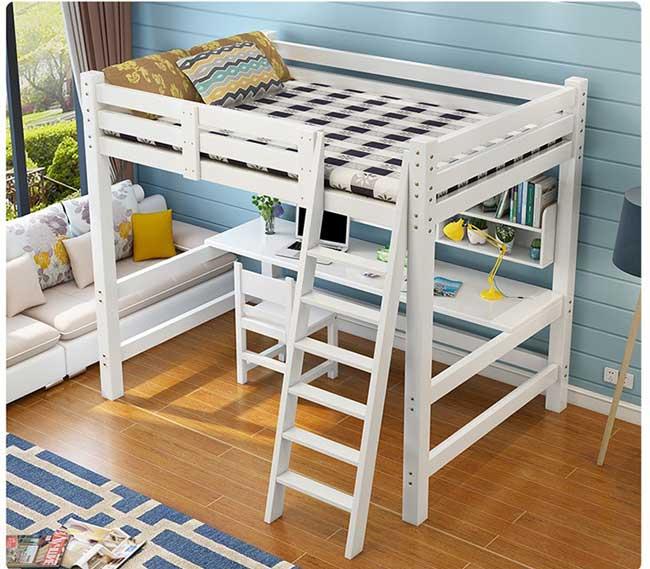 Giường tầng người lớn đa chức năng kết hợp bàn