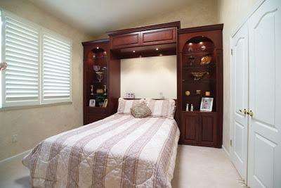 Giường gấp cổ điển gỗ xoan đào GA-C23