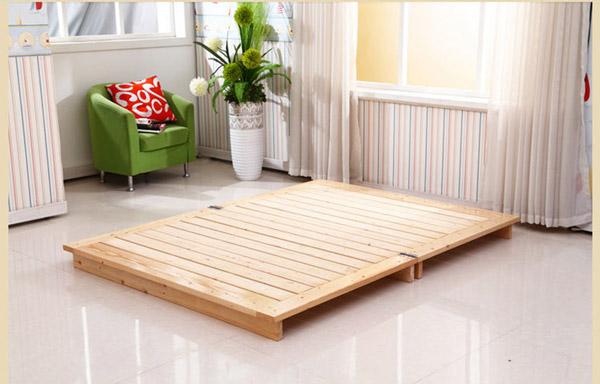 giường gấp gỗ xoan đào