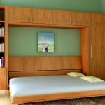 Giường gấp ngang kích thước 1,6 x 2m chất liệu gỗ, thép