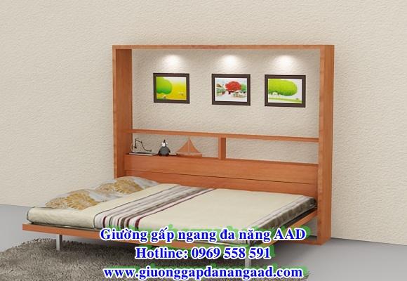 Giường đa năng gấp ngang 1m6 x 2m