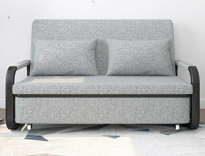giường gấp sofa có bánh xe kéo thành giường