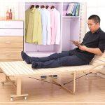 Giường ngủ gấp đa năng nhỏ gọn bằng gỗ GA 317